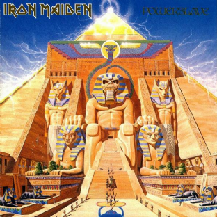 Iron Maiden - Powerslave (LP) (180g Vinyl) (M/M) (Sealed)